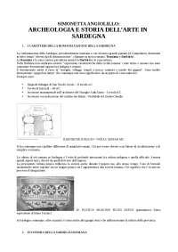 Archeologia e Storia dell'arte in Sardegna