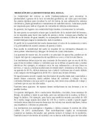 RESISTIVIDAD DEL SUELO