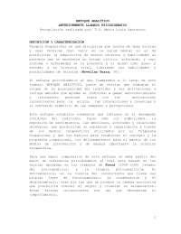 ENFOQUES  DE TERAPIA OCUPACIONAL
