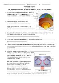 ESECRITAZIONE PER VERIFICA  GEOGRAFIA ASTRONOMICA