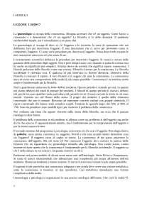 APPUNTI CORSO STORIA DELLA FILOSOFIA PROF. BALDI