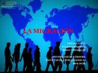 Migración o desplazamiento