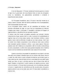 Maquiavel resumo do livro