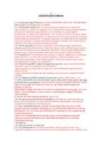 Resumen para final derecho tributario