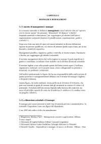Manager e management