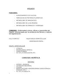 semiologia hepatica clases de semio