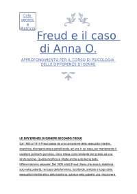 Freud e il caso di Anna O.