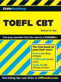 CLIFFS TOEFL for TOEFL Test Takers
