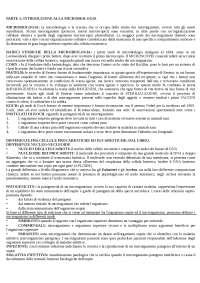 Appunti microbiologia farmaceutica (batteriologia)
