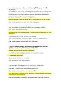 Preguntas Examen Cito 2014 Examenes De Histologia Docsity