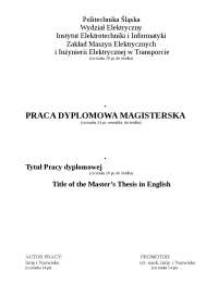 wzór pracy dyplomowej, Završni rad'z Pisanie dziennikarskie
