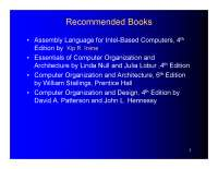 Computer Organization & assembly Language Lec # 1 & 2 Fully Explaned