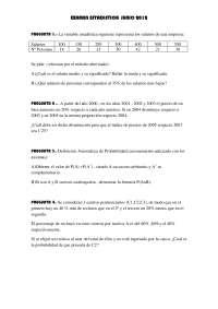 examen estadistica Xuño 2012