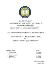 Online Bus Ticketing System