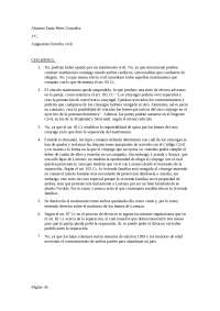 Práctica de Derecho Civil I.