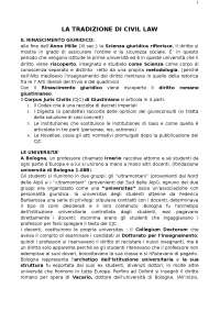 Varano-Barsotti la tradizione giuridica occidentale
