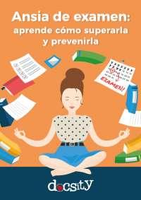 Ansia de examen: aprende cómo superarla y prevenirla - eBook Docsity