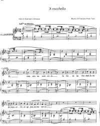 'A Vucchella - Canto e Pianoforte