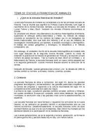 Resumen de Historiografía Escuela Francesa