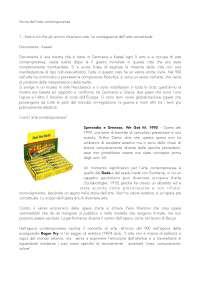 Appunti Storia dell'arte contemporanea - Di Raddo Unicatt