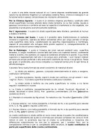 appunti di chimica del suolo
