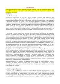 globalizzazione argomento quinto anno liceo scienze umane