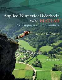 Applied Numerical Methods With MATLAB by Steven Chapra