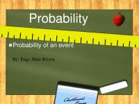 Simple Probability, Additive Rules