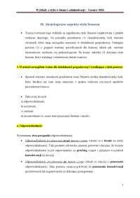 Wykład 3 Etyka w biznesie, Streszczenia'z Etyka