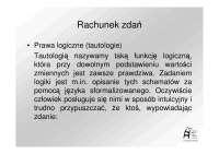 Logika_6_2013 Rachunek zdań II