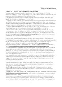 Manuale della esecuzione penitenziaria, Corso - Riassunto