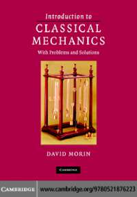 classical mechanics for students best book ever