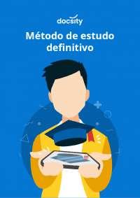 Método de Estudo Definitivo E-book Docsity. Parceria entre Docsity e Liga dos Vestibulandos, Manuais, Projetos, Pesquisas de Pedagogia