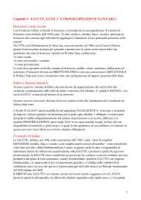 Riassunto libro Il Management in sanità di Maria Triassi