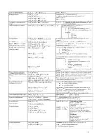 Formulario Completo Matematica Finanziaria