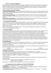 Francese traduttologia