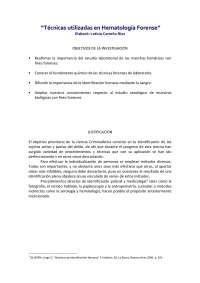 tecnicas hematologicas forenses