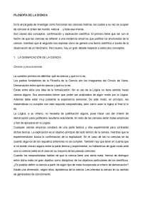 APUNTES FILOSOFÍA DE LA CIENCIA