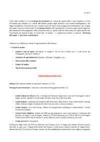 Didattica dell'italiano per stranieri - Della Putta 2017, settimana 3