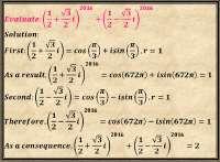 Complex question (Di Moivre theorem)