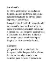 uso del calculo en la ingenieria civil