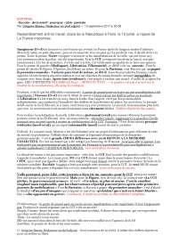 Libération, éditorial