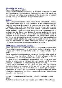 Vita e opere di Edmondo De Amicis