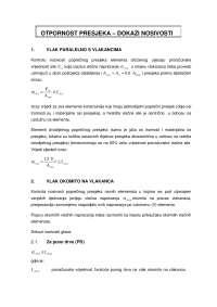 dokazi nosivosti za inzenjerijske konstrukcije