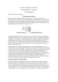 desbordamiento aritmetico, Tesinas de Electrónica Digital y Analógica