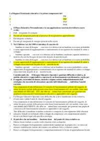 domande d'esame didattica dell'inclusione Unipegaso