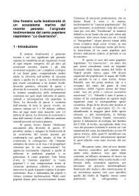 La biodiversità del Golfo di Napoli: un approccio interdisciplinare