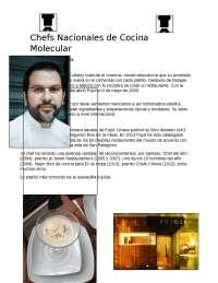 Cocina Molecular en México