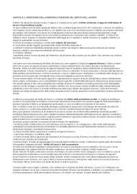 """riassunto esame """" diritto del lavoro"""" , programma completo"""