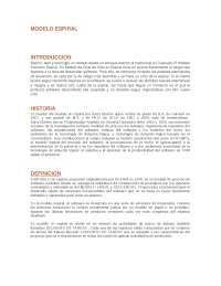 Modelo espiral, investigación sobre como funciona el modelo espiral en analisis de sistemas